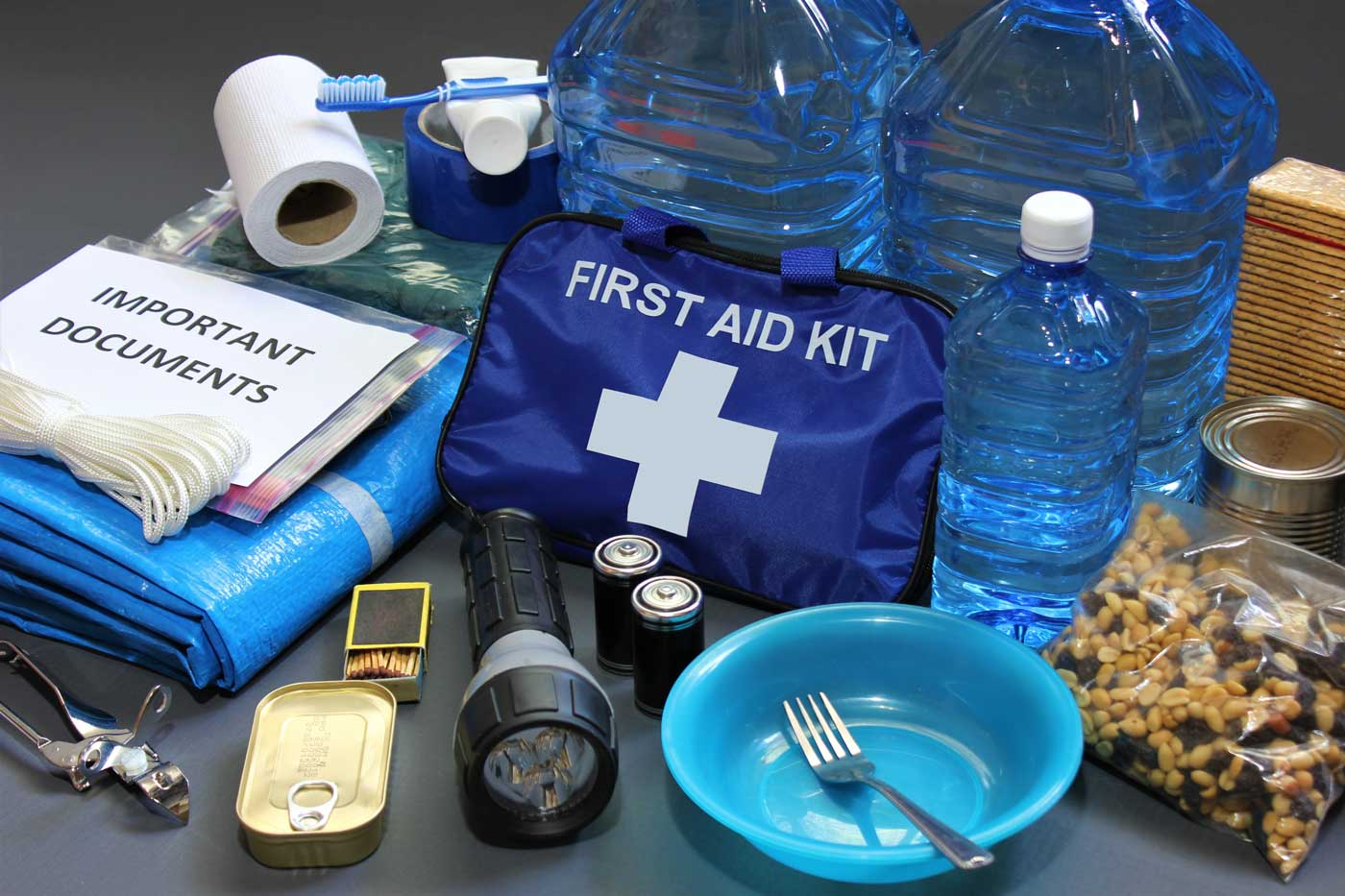 Contents of First Aid Kit